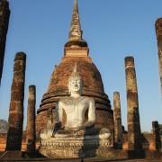 Marc Knecht - Thailande Sukhothai sculpture de Bouddha